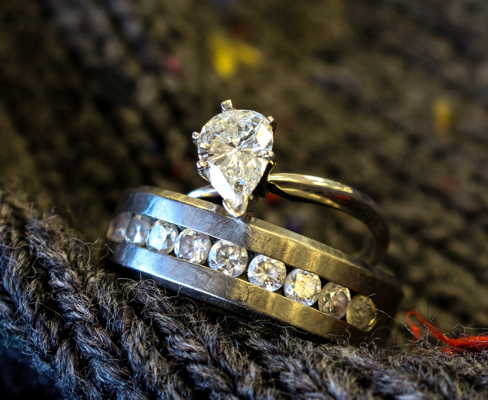 quick view estate jewelry diamond ring - Pawn Shop Wedding Rings